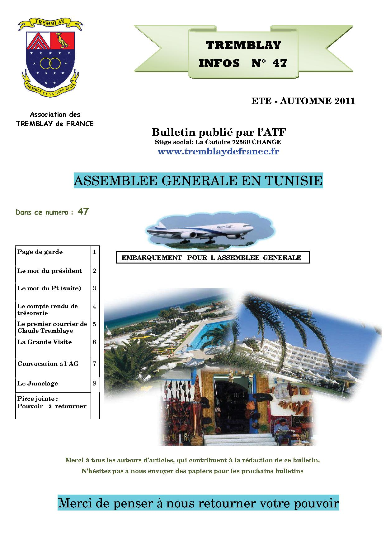 ETE - AUTOMNE 2011